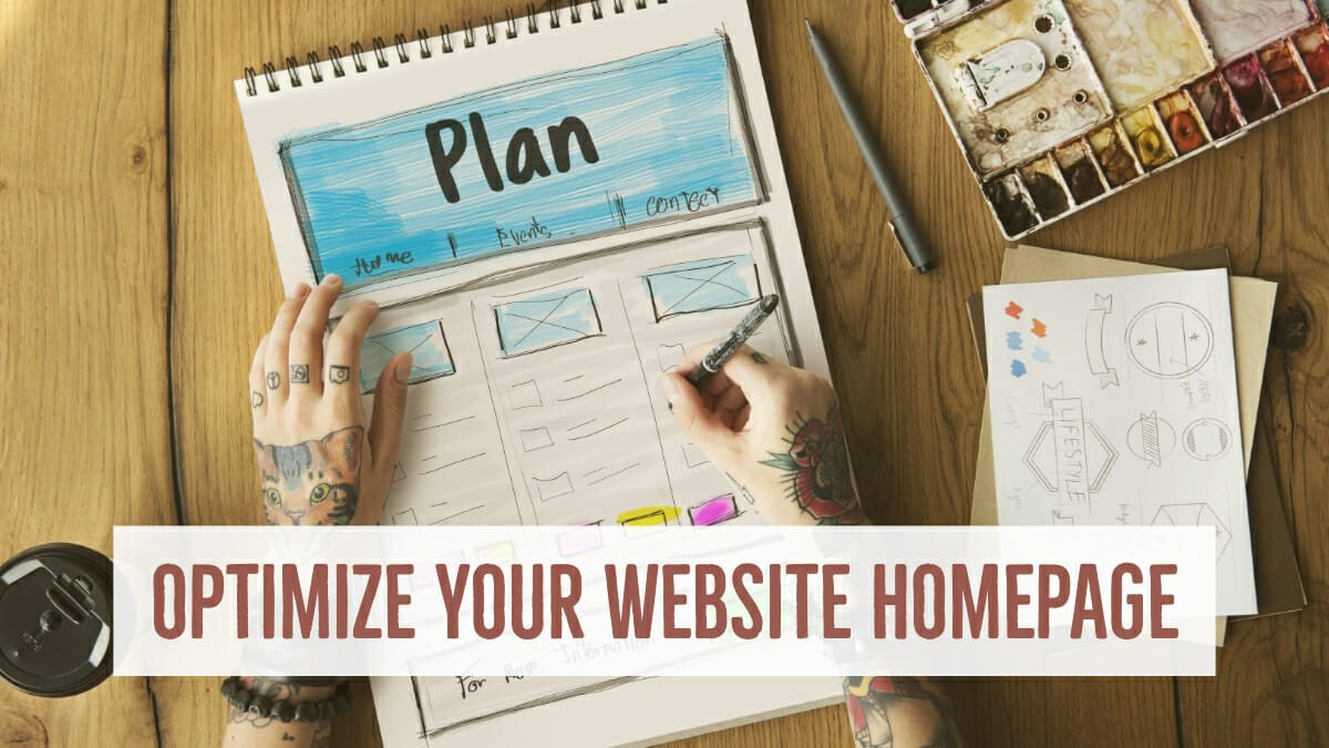 Optimize Your Website Homepage