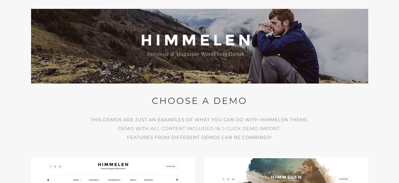 Himmelen Responsive WordPress Blog Theme
