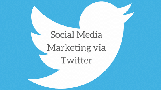 Social Media Marketing via Twitter
