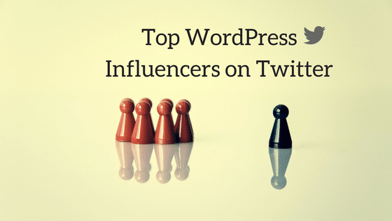 Top Wordpress Influencers on Twitter