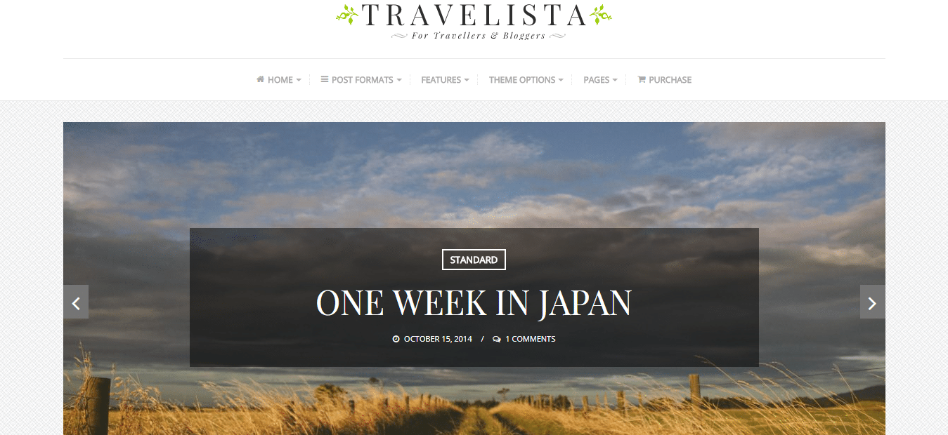 Travelista – Just another BloomPixel Themes Demo site