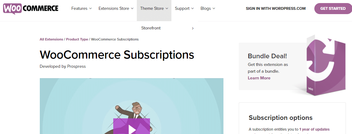 WooCommerce Extension
