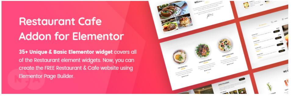Restaurant & Cafe Addon for Elementor