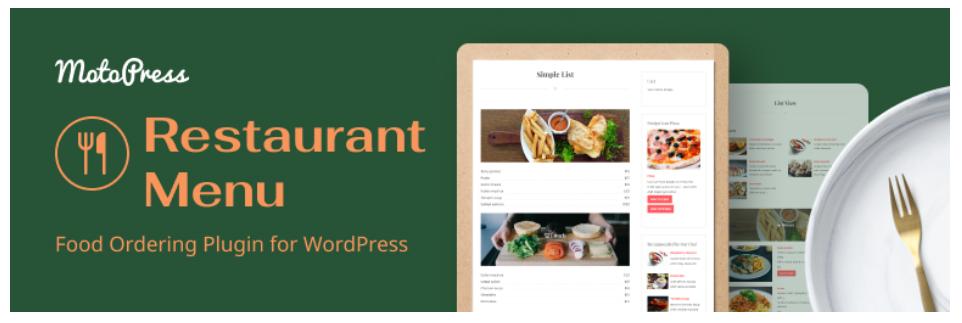 MotoPress Restaurant Menu