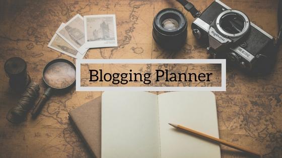Blogging Planner image