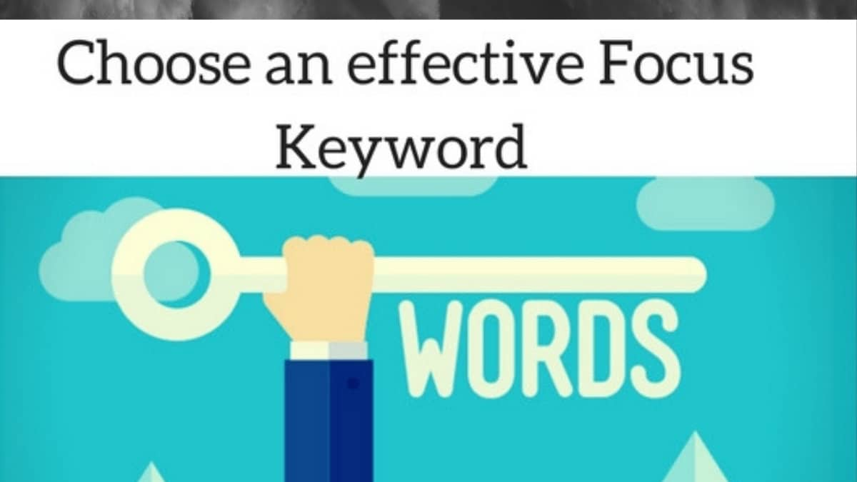 Focus Keyword Selection