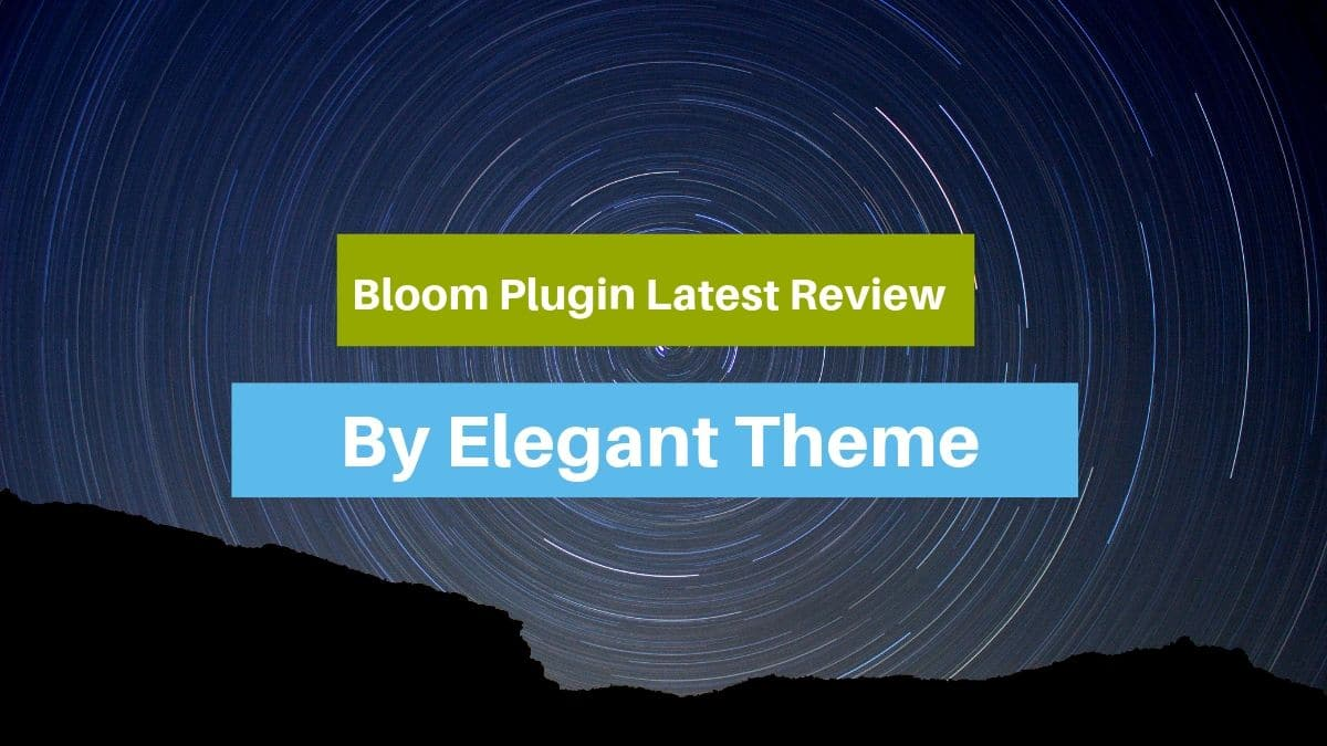 Bloom Plugin Latest Review