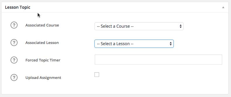 Create LearnDash Course