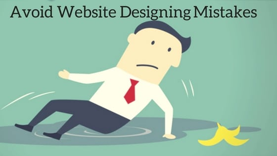 Website Designing Mistakes 1