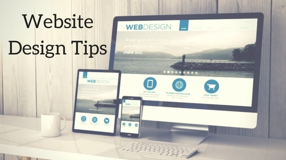 Website design tips image