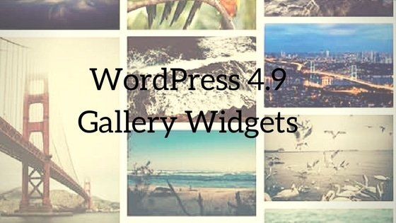 WordPress Gallery Widgets