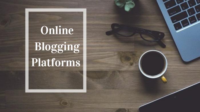 online blogging platform image