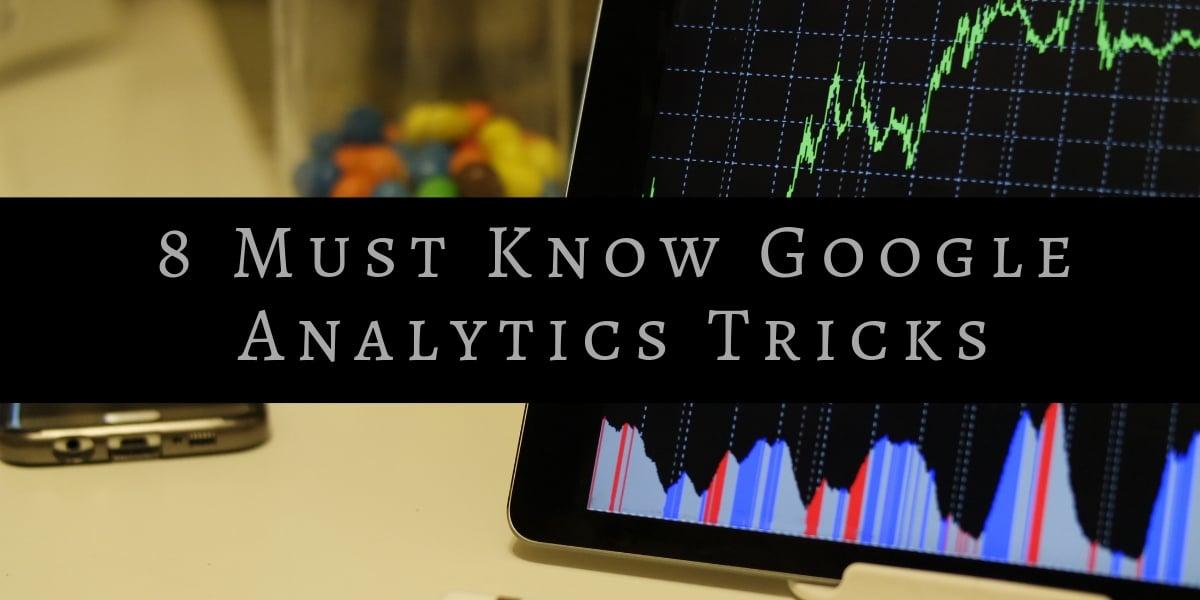 Google Analytics Tricks