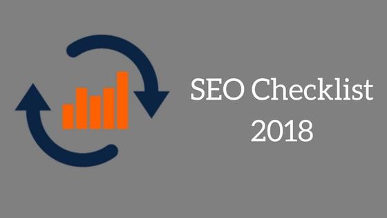 SEO Checklist 2018 image