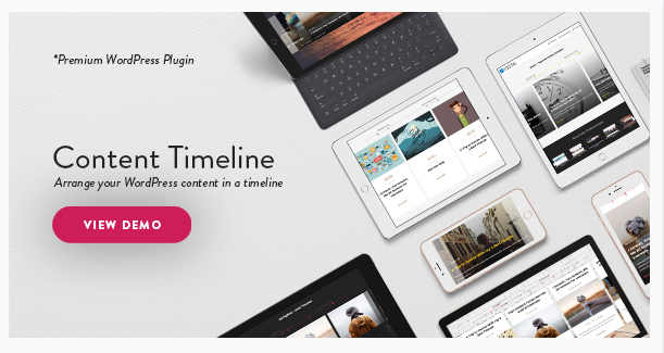 WordPress Timeline Plugins