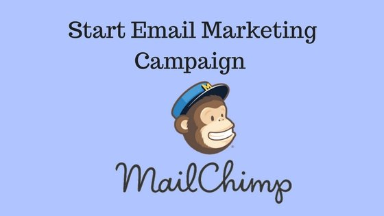 Start Email Marketing Campign