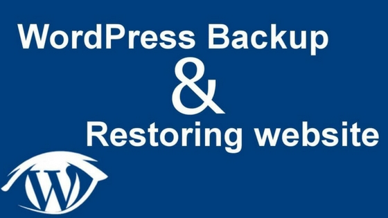 WordPress restore image