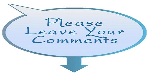 Blog Post Comment