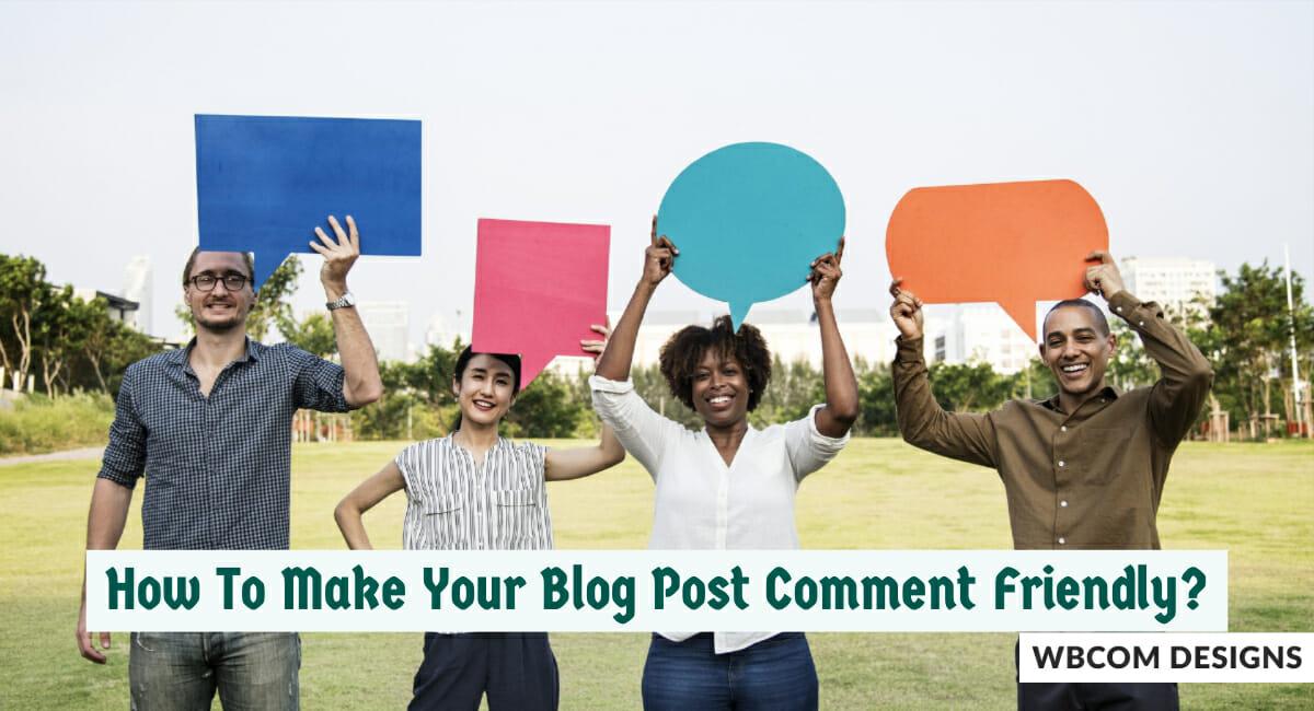 Post Comment Friendly