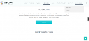 Sell Services WordPress