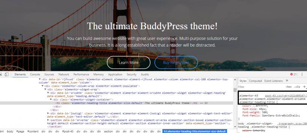 install font in WordPress website
