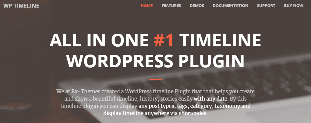 WordPress Timeline Plugins