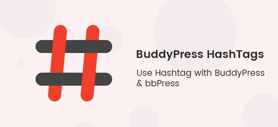 buddypress hashtag