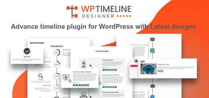 WP Timeline Designer