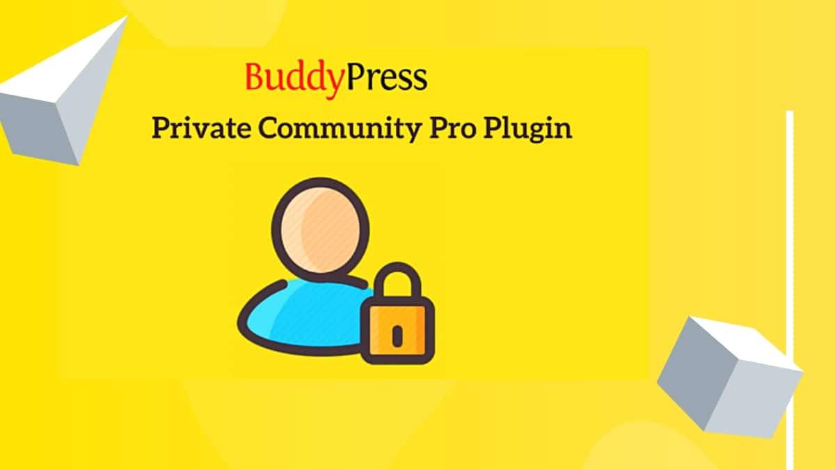 BuddyPress Private Community Pro Plugin