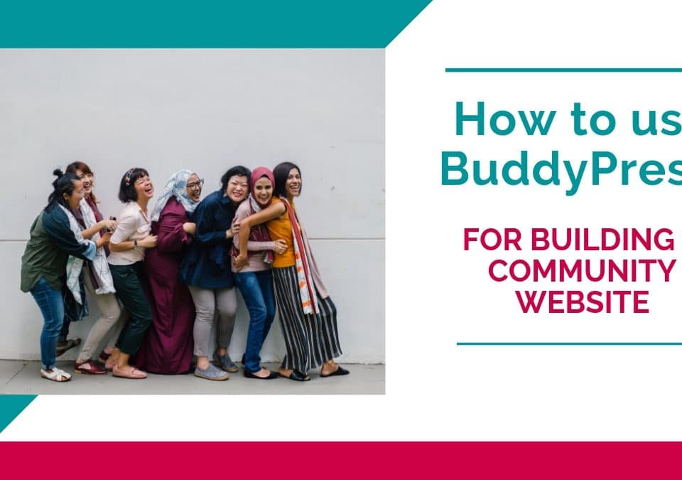 How to use BuddyPress