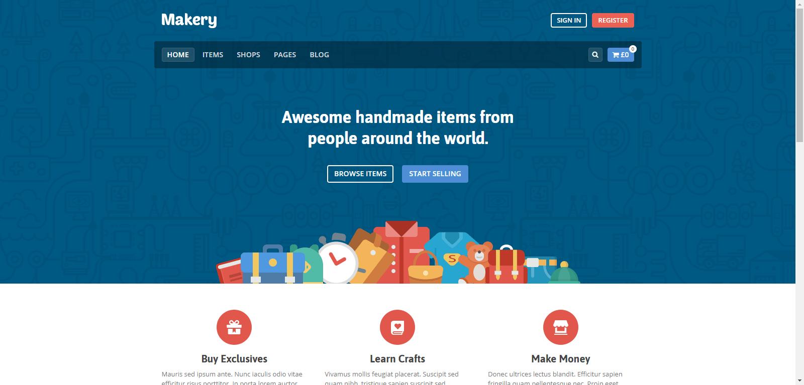 Multi vendor ecommerce themes