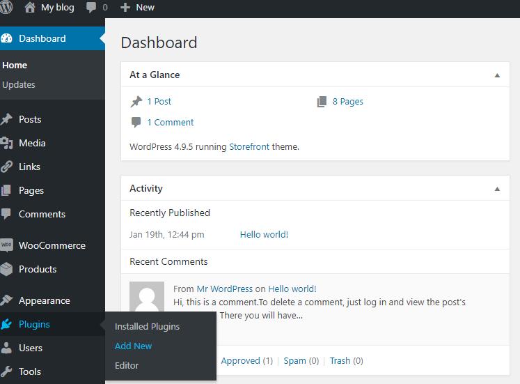 BuddyPress activitySocial share