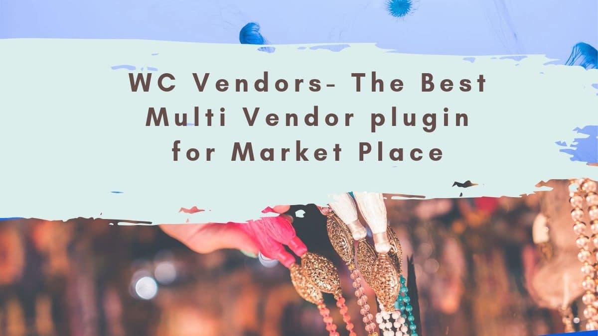 WC Vendors review
