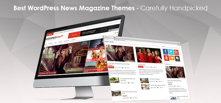 WordPress news theme image