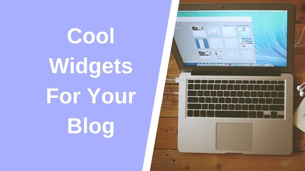 best blogging widgets