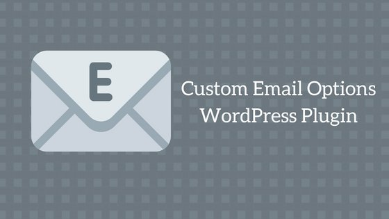 Custom Email Options Plugin image
