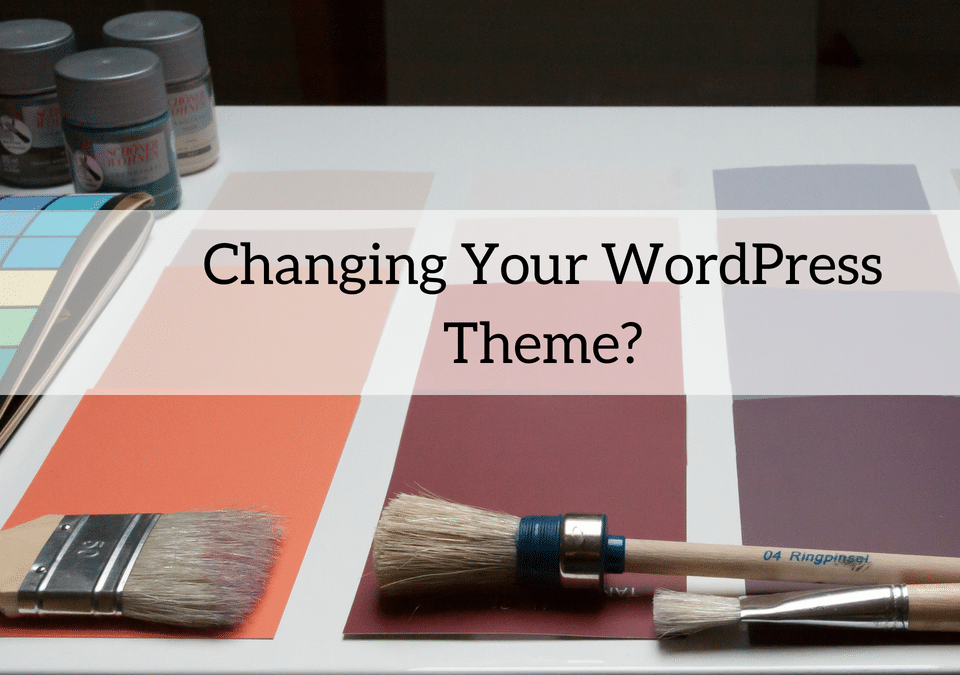 Changing Your WordPress Theme 1