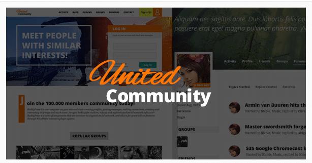 BuddyPress Intranet Themes