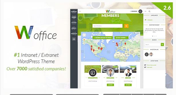 WordPress Intranet Extranet Theme