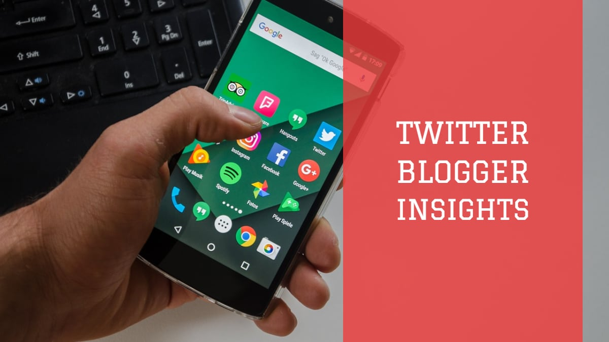 Twitter Blogger Insights