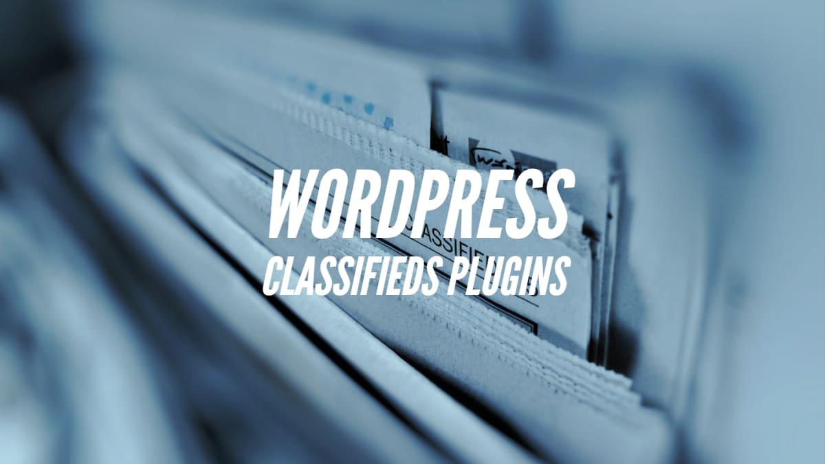 WordPress Classifieds Plugins