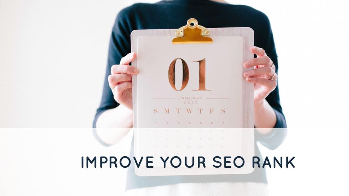 Improve Your SEO Rank