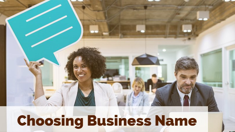 Business Name,picking a company name