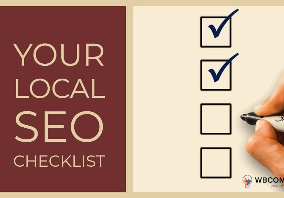 Your Local SEO Checklist