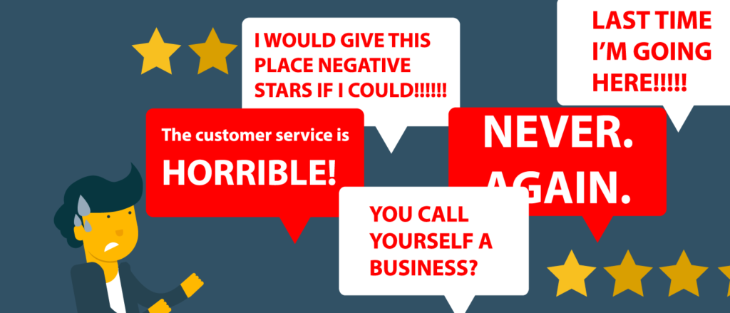 Answering Negative Reviews