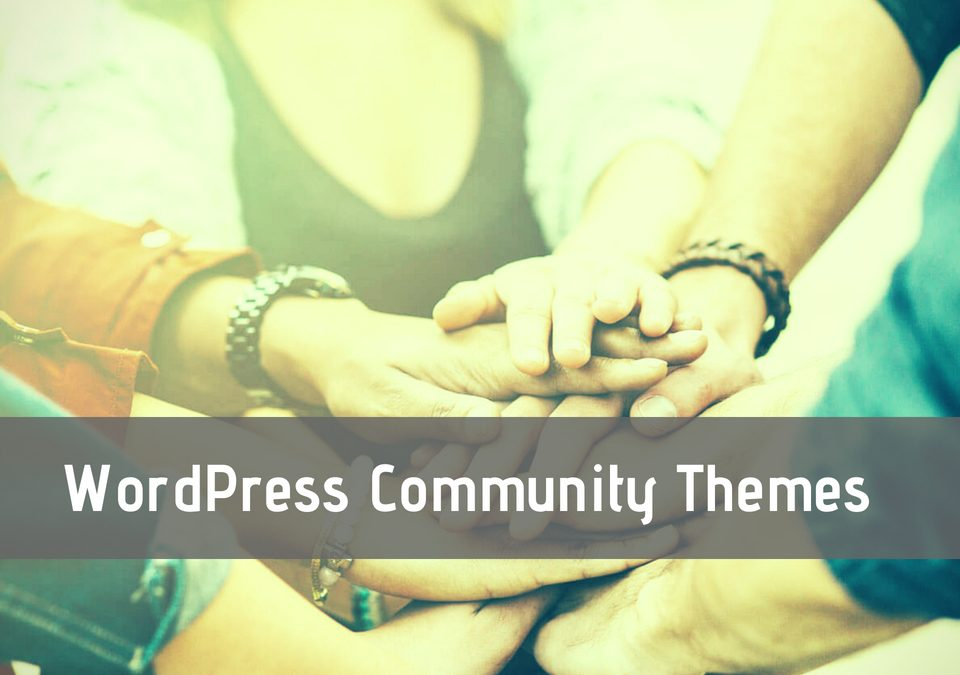 WordPress Community Themes
