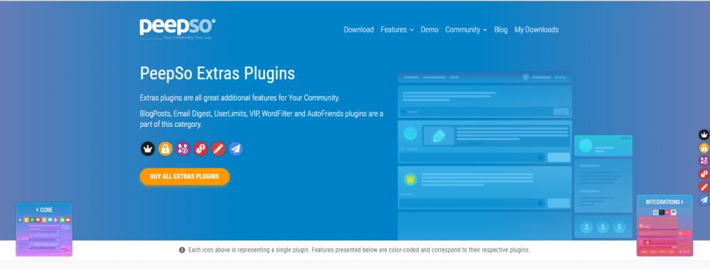 WordPress Social Network plugin