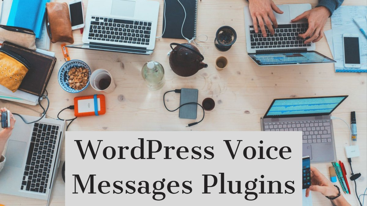 WordPress Voice Messages Plugins