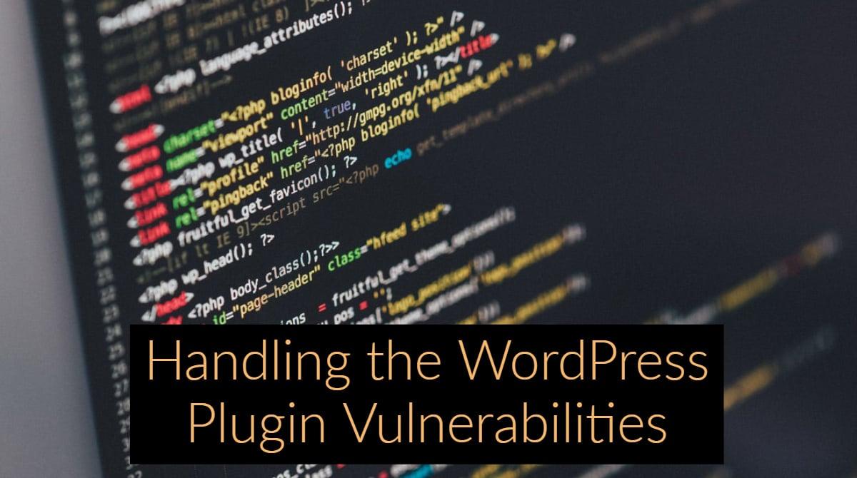 WordPress plugin,Vulnerabilities of WordPress Plugins