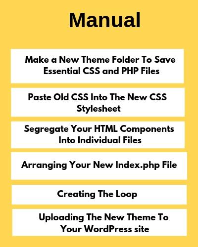 Convert HTML Site